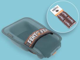 Elastieken Fento kniebeschermer 200