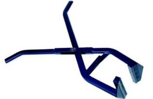 Bandentang met rubber de Wit ( blauw )