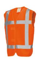 Veiligheidsvest RWS oranje XXXXL