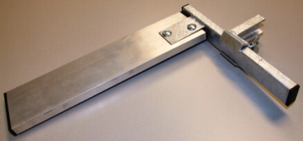 Rijhoogte insteller, incl. aluminium