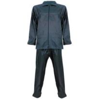 Regenpak Polyester broek+jas navy L-XL